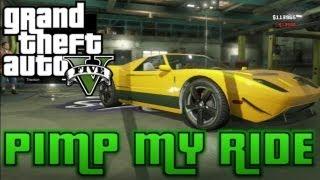 GTA V Pimp My Ride #7 Vapid Bullet (Ford GT
