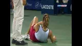Los peores momentos en tenis