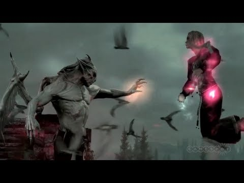 Skyrim Dawnguard DLC Trailer