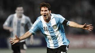 Lionel Messi Mejores Jugadas Con La Seleccion Argentina