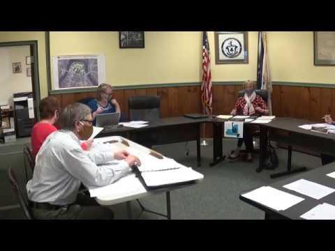 Champlain Village Board Meeting 5-11-20
