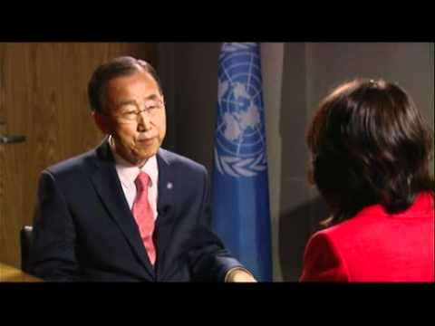 Ban Ki-Moon: Extended Interview with Al Jazeera