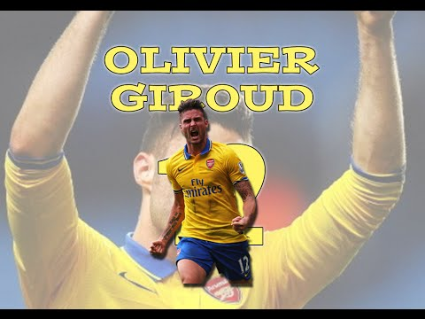 Olivier Giroud | All Goals & Skills | 2013/14 | HD