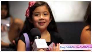 """Ganadores/as Del Concurso """"Violetta""""."""
