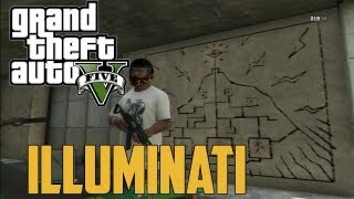 GTA 5 - Illuminati Secret Easter Egg Part 2: (Grand Theft Auto V Secret Easter Eggs)