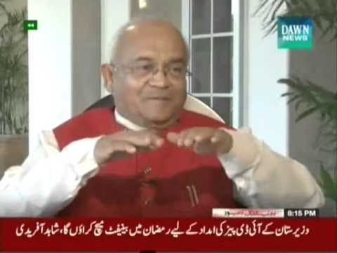 Ved Pratap Vaidik complete interview given to dawn news in Pakistan on Target Point   29th June 2014