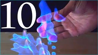 10 Amazing Science Experiments! Compilation