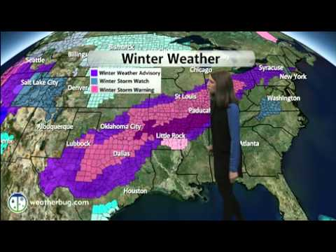 Winter Storm Socks Southern Plains to the Ohio Valley