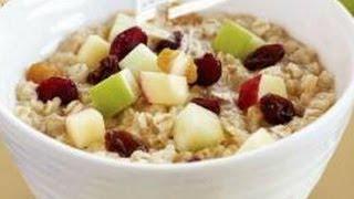 Avena un desayuno delicioso y saludable