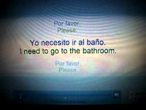 I need to go to the bathroom spanish w lyrics youtube for I need to go to the bathroom