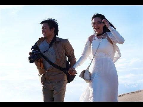 Quý Bình, Minh Hằng hôn nhau say đắm trên biển