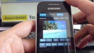 Como Editar Fotos Celular En Samsung Galaxy Y S5360