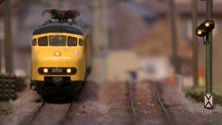 Die wunderschöne Modellbahn vom Modell-Eisenbahn-Club Nienoord in Spur H0