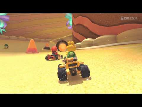Mario Kart 8 Track Showcase-Mushroom Cup-Sweet Sweet Canyon