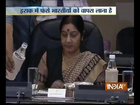 Iraq Crisis: Sushma Swaraj Meets Envoys to Gulf Nations
