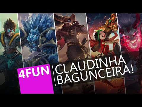 League of Legends | 4FUN | Claudinha Bagunceira!