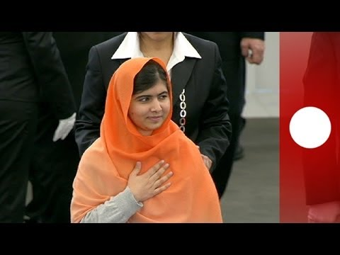 Malala Yousafzai receives 2013 Sakharov Prize for Freedom of Thought in European Parliament
