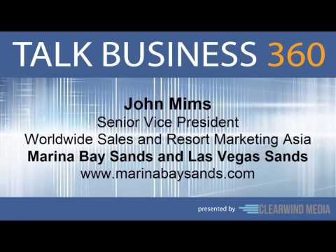 TALK BUSINESS 360 Interview with Marina Bay Sands and Las Vegas Sands