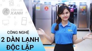Công nghệ 2 dàn lạnh độc lập trên tủ lạnh là gì?   Điện máy XANH