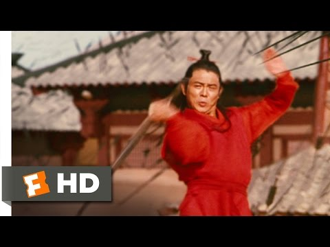Hero (2/11) Movie CLIP - Calligraphy and Swordplay (2002) HD