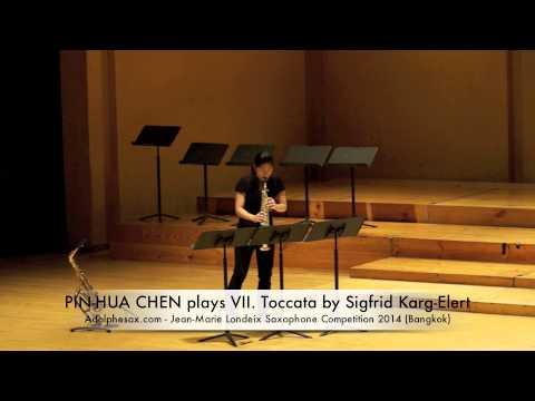 PIN HUA CHEN plays VII Toccata by Sigfrid Karg Elert