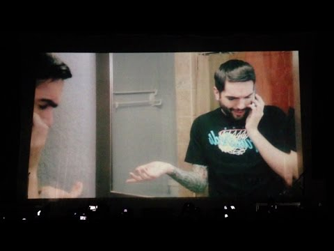 A Day To Remember live at London Alexandra Palace full intro 12/02/2014