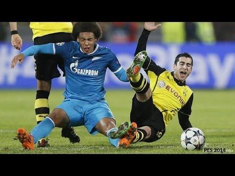 Borussia Dortmund - Zenit Sankt Petersburg | ChampionsLeague 1/8 Finale Rückspiel | pes14