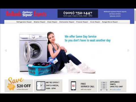Redlands Appliance Repair Experts-(909) 752-1447