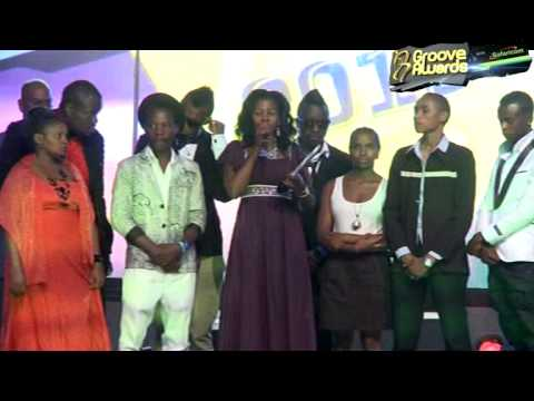 Female Artist of The Year Groove Awards 2013 - Gloria Muliro