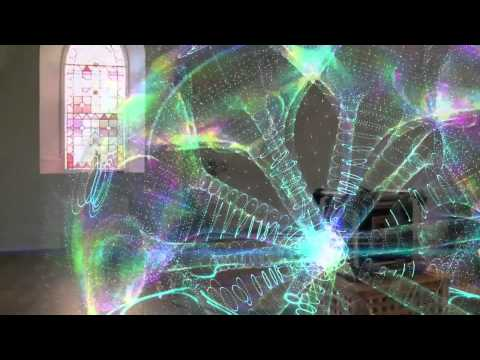 Музыкальная Голография в Реальном Времени. Киматика - Musical holography in real time. Cymatics/