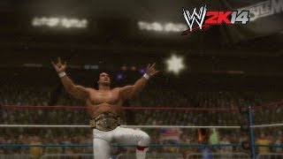 """""""WWE 2K14"""" How-To: RIcky Steamboat Vs. Randy Savage At"""
