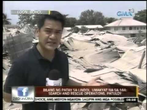 Loon, Bohol Earthquake News    Oct 16, 2013