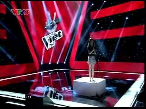 Giọng Hát Việt Nhí - The Voice Kids HD 2013 Vòng Giấu Mặt: Nguyễn Mai Thùy Anh - You Raise Me Up