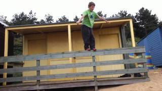 12 Year Old Parkour/Freerunning/Tricking (Thomas Bennett
