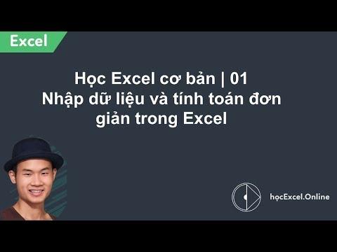 Hướng dẫn sử dụng excel 2007 - Phần 1