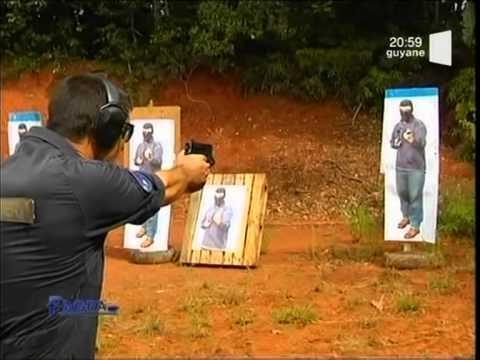 Reportage RFO sur le GI2G - GPI Cayenne - Gendarmerie Intervention