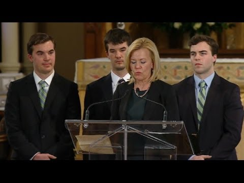 Jim Flaherty remembered at state funeral