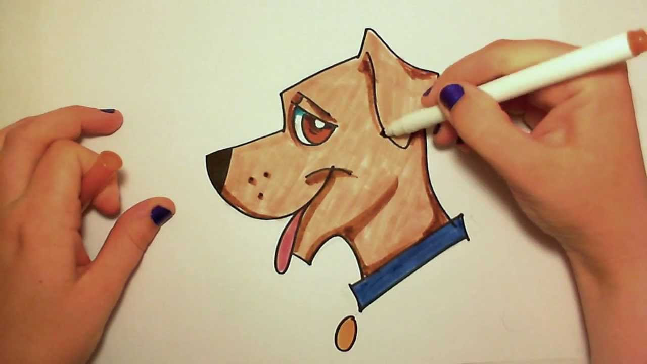 Realistic Dogs Drawing at GetDrawings.com | Free for ...
