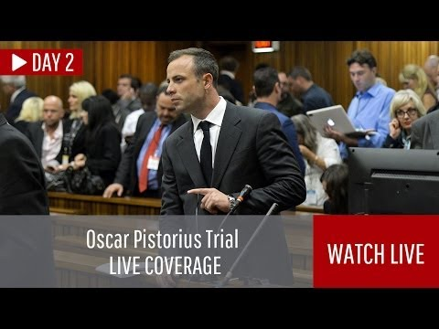 LIVE: Oscar Pistorius trial, day 2