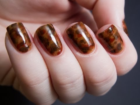 Tortoiseshell Effect Tutorial,