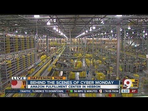 Largest Amazon Fulfillment Center Amazon.com Fulfillment Center