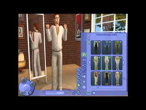 Let's Play: The Sims 2 (Part 1) - Create-A-Family w/ Commentary