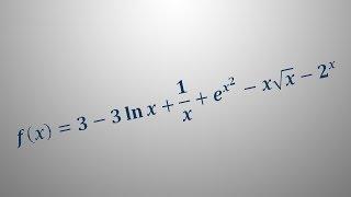 Odvod funkcije – primer 7
