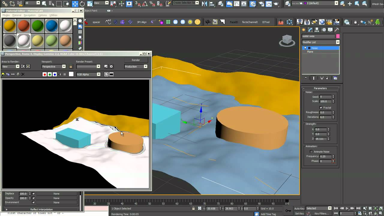 3ds Max Vray Tutorial Create Foam Around The 3d