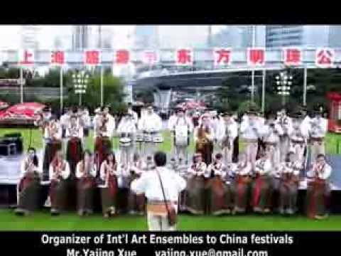 2013 Shanghai Tourism Festival - Poland Folk Brass Band (A)