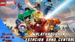 Walkthrough Lego Marvel Super Heroes Parte 1: Estación