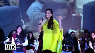 IANS : Sonam's Crazy Masti At National College | Neerja Promotion