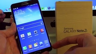 How To Unlock Samsung Galaxy Note 3 Step By Step