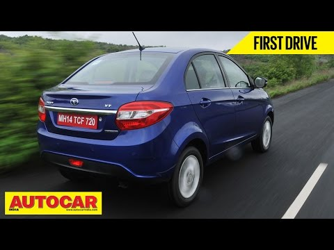 2014 Tata Zest Compact Sedan Petrol & Diesel AMT | First Drive Video Review | Autocar India