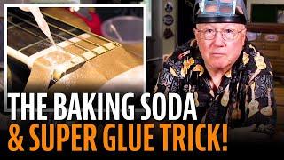Watch the Trade Secrets Video, Fix a broken nut with baking soda?